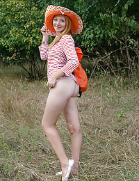 She likes to spice up her picnic with something sexy so she strips a few clothes to show some of her sizzling hot body off.